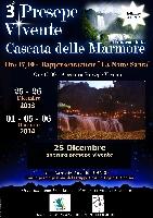 Presepe di Natale Vivente a Marmore Foto